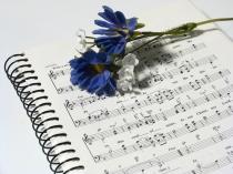 Partitura-flor